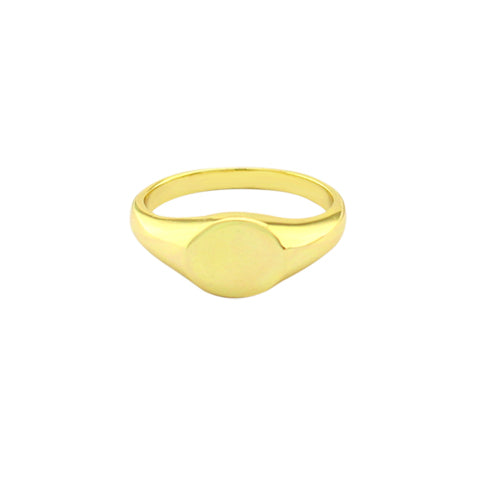 Engraveable Signet Ring - 6