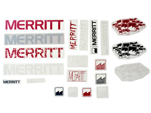 Merritt Sticker Pack - Pedal Driven Cycles