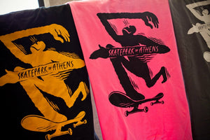 Skate Park of Athens T-Shirt - Pedal Driven Cycles