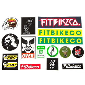 Fit Bike Co. Sticker Pack
