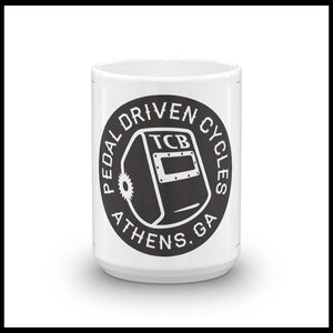 Pedal Driven Cycles Mug coffee PDC bmx