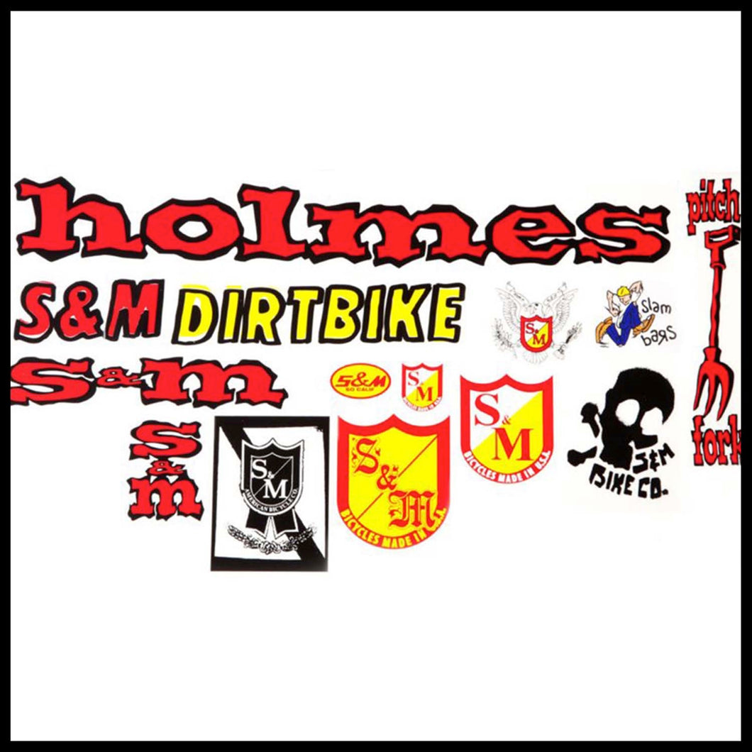 S&M 30 Years Sticker Pack - Pedal Driven Cycles