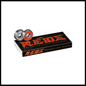 Bones Reds (Single Set) Bearings - Pedal Driven Cycles