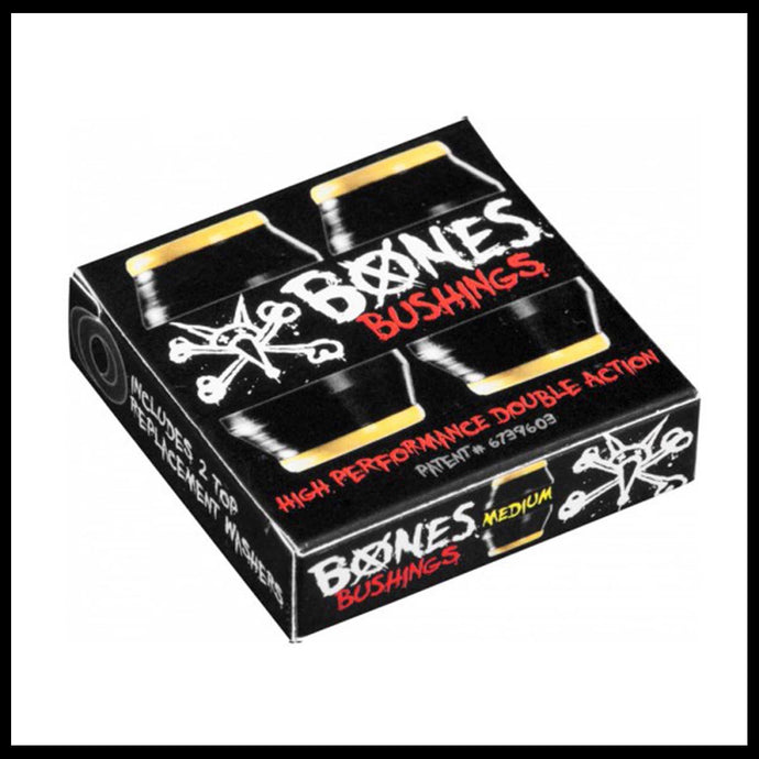 bones wheels bushings medium hard skate skateboard trucks