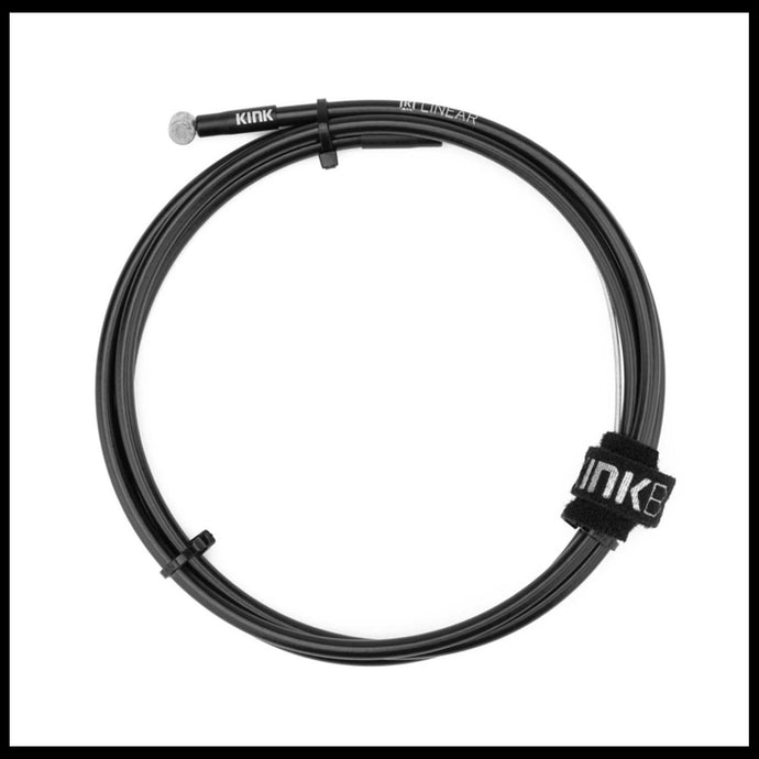 Black Kink Linear Brake Cable bmx bike Brakes
