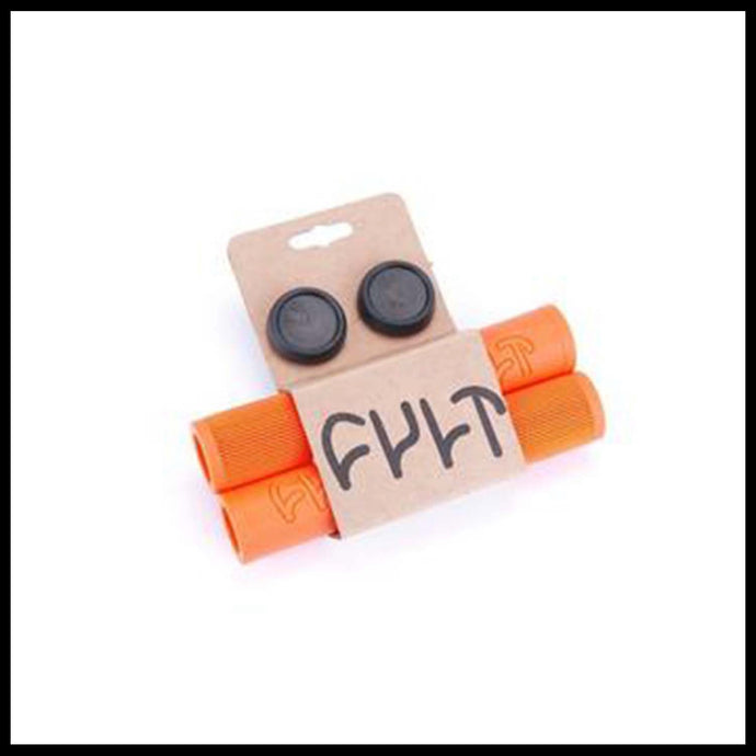 Cult bmx orange faith grips