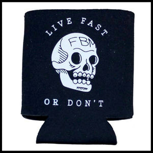 FBM Live Fast Coozie - Pedal Driven Cycles