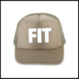 Fit Bike Co. Block Trucker Hat