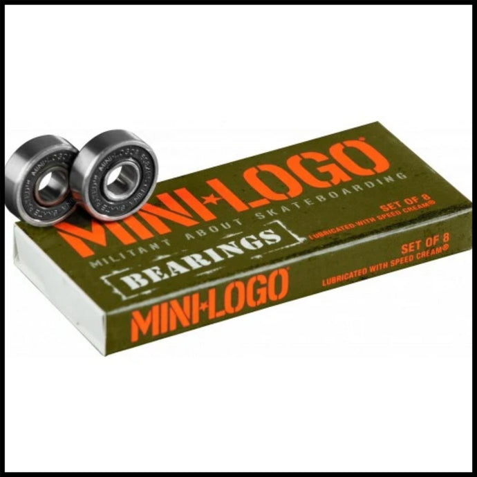 Mini Logo Skate Bearings - Pedal Driven Cycles