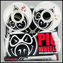 Load image into Gallery viewer, Pig Head Natural Logo Skate Wheels