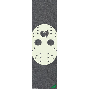"Mob Grip Wu-Tang Clan #2 Hockey Mask Griptape - 9"" x 33"" - Pedal Driven Cycles"