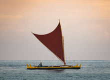 Load image into Gallery viewer, Notecard – Hawaiian Canoe