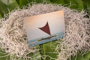 Notecard – Hawaiian Canoe