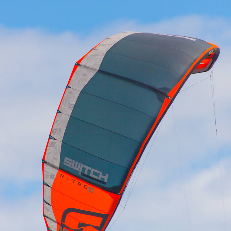 Kiteboarding Nitro 6 big air freeride speed