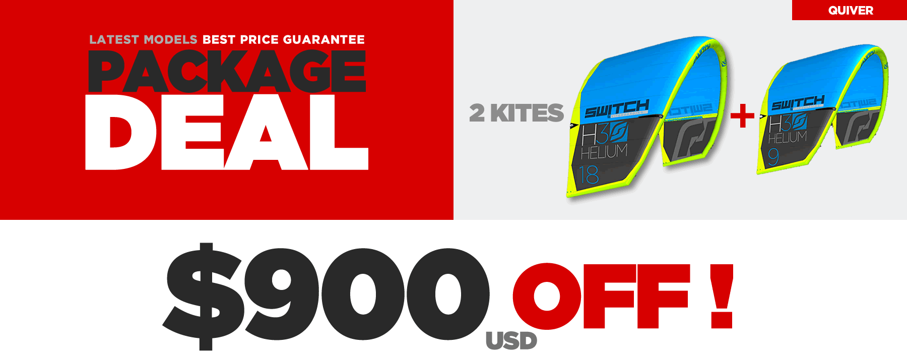 Kiteboarding Package Deals