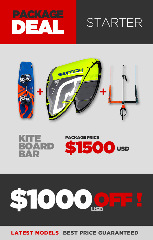 Kiteboarding Package Deal - Starter - $1000 OFF