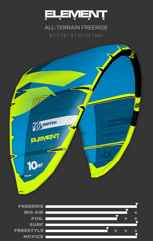 Kitesurfing Kite Sale ELEMENT 7
