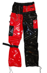 "THE ""PHENOMENON"" DOUBLE WAIST VINYL PANTS"