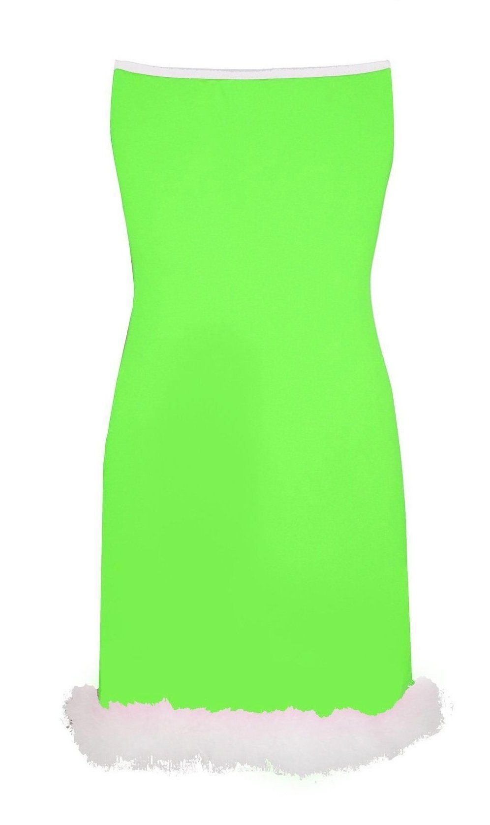 THE  SLEEVELESS 'MARILYN ' DRESS green/pink/orange