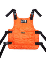 "ORANGE QUILTED ""BULLET PROOF VEST """