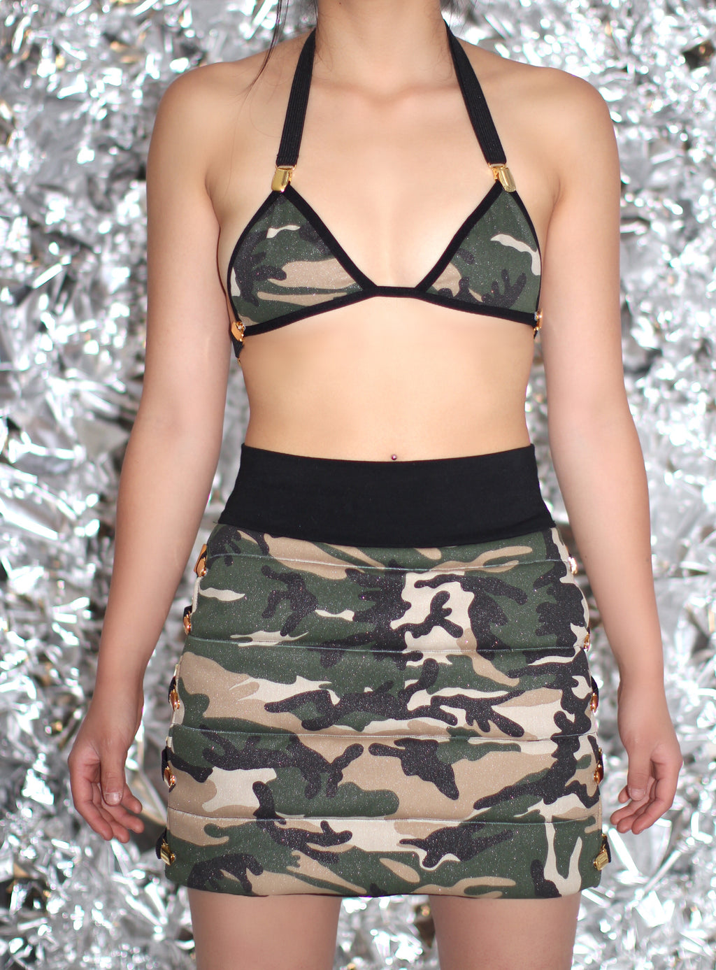 "THE ""ARMY PUFFER"" SET"