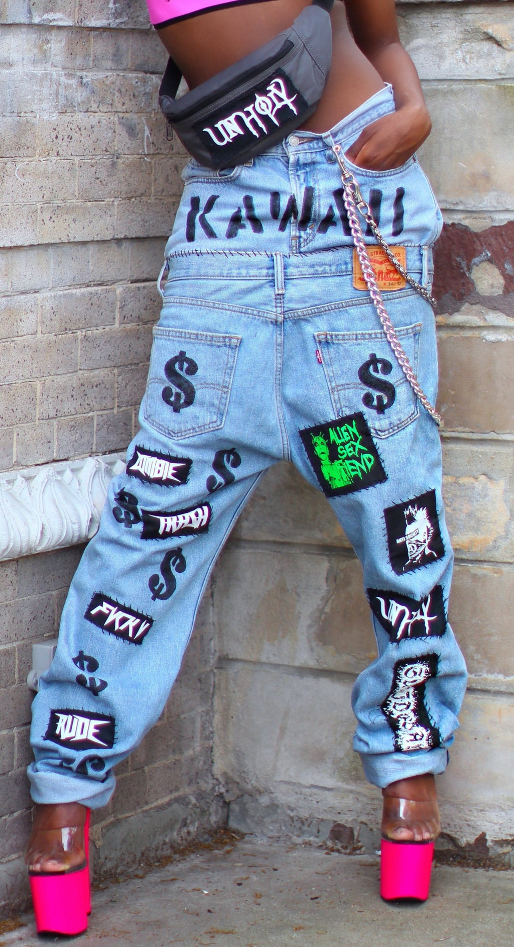 THE ' DESTROY $$' JEANS