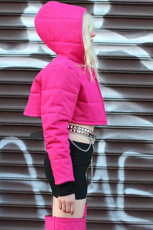 "THE ""ROSE"" BUBBLE JACKET"