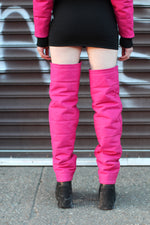 "THE ""ROSE"" LEG WARMERS"