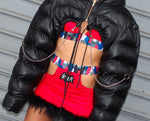 "THE ""DARK ANGEL "" MINI BUBBLE JACKET"