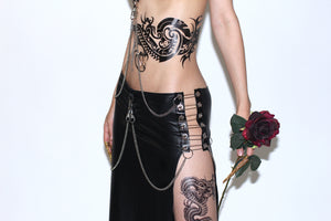 "THE""DARK ANGEL"" SKIRT SET"