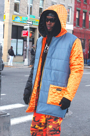"THE ""MULTICOLORED REVERSIBLE JACKET"""