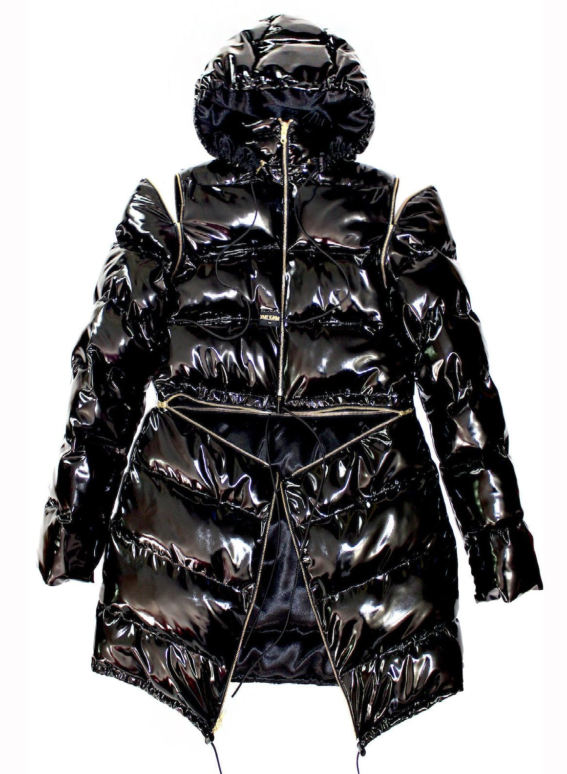 """TO THE MOON"" TRANSFORMABLE JACKET multicolor"