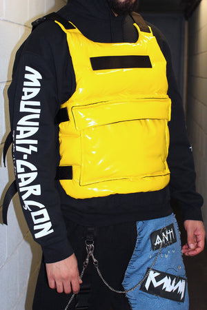 "THE ""BICOLOR "" VINYL BULLET PROOF VEST"