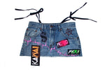 """AXEL ROSE"" DENIM SKIRT"