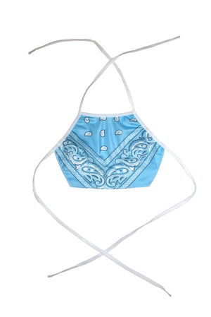"THE ""BANDANA"" HALTER TOP"