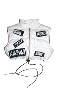 "THE ""YING YANG "" BUBBLE VEST"