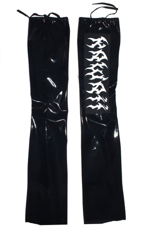 "THE ""SALEM"" VINYL LEG WARMERS"