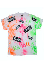 "THE ""TRASH TEES"" neon green/orange/pink"