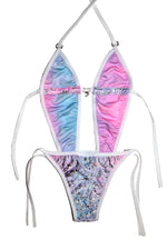 "THE ""ICY ONE PIECE ""BATHING SUIT"