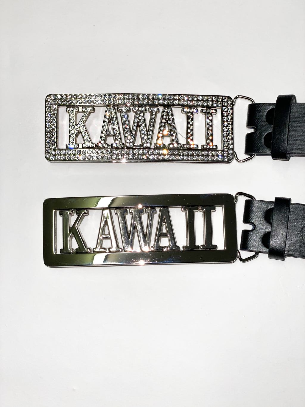 """KAWAII"" RHINESTONE NAME BELT"