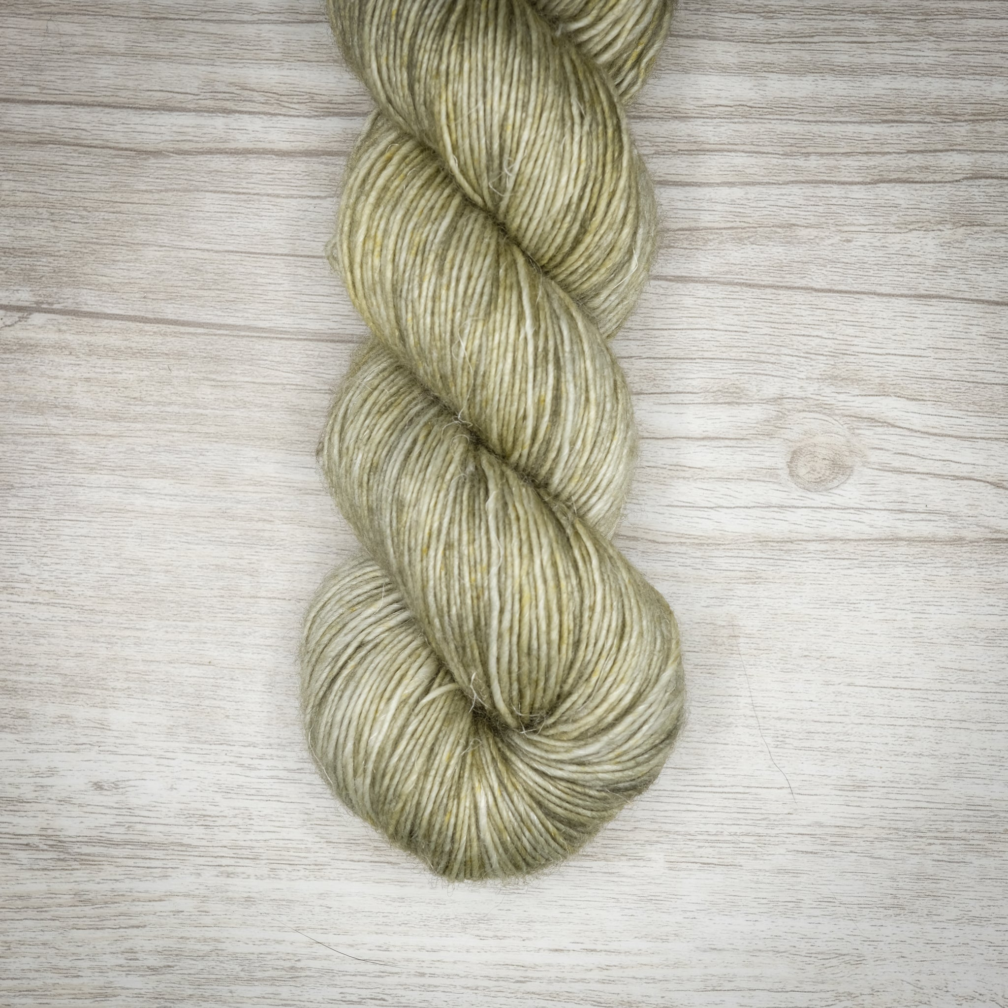 Green Earth - Merino Linen Singles Dyed to Order