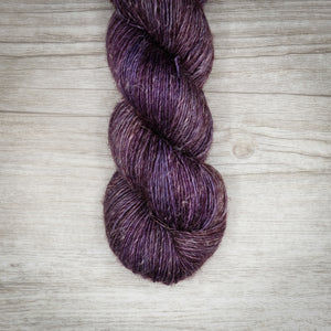 Deep Purple - Merino Linen Singles Dyed to Order