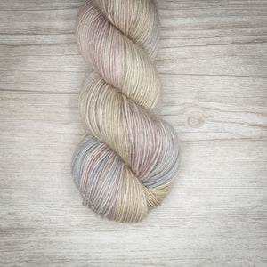 Oyster - Merino Linen Singles Dyed to Order
