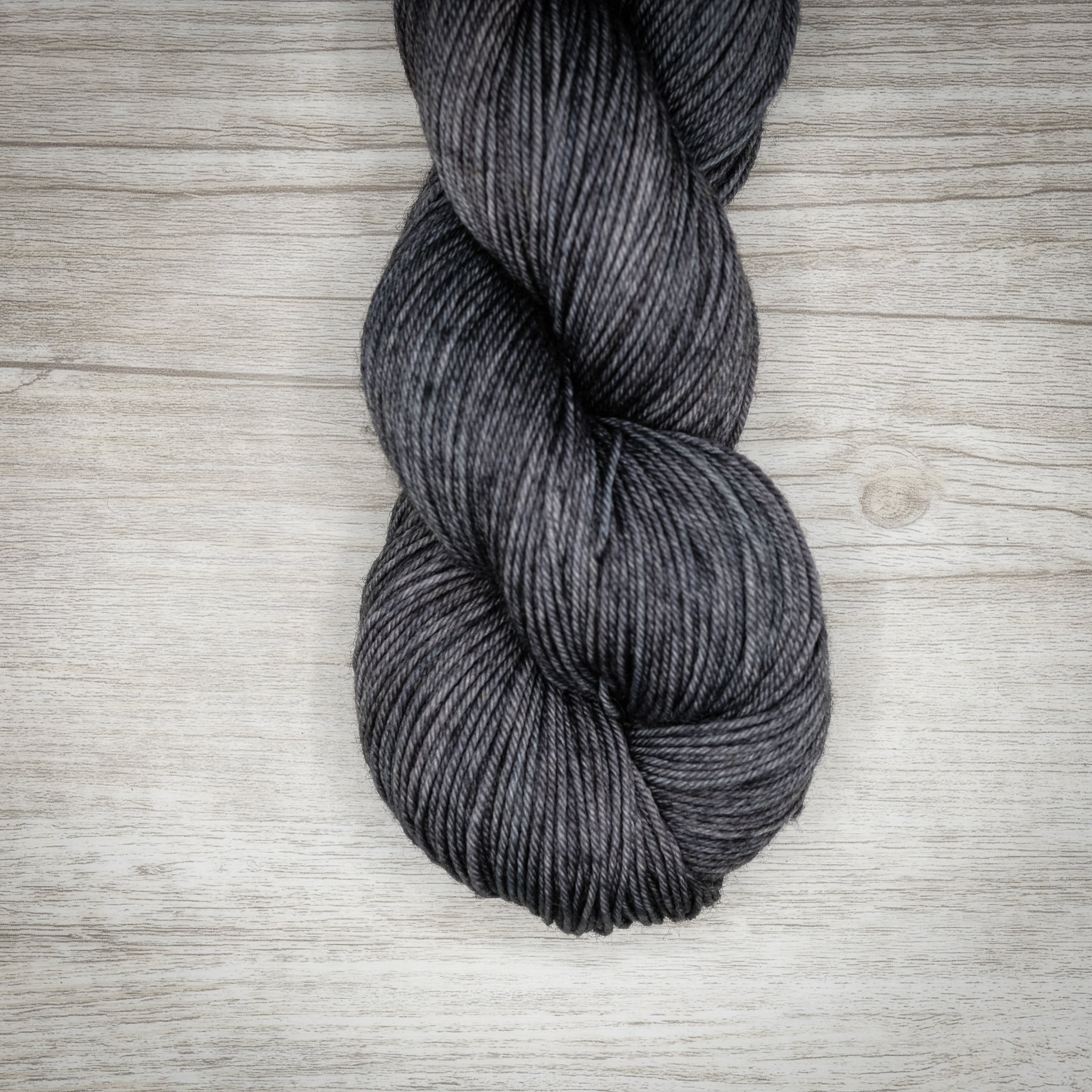 Charcoal - Merino Linen Singles Dyed to Order