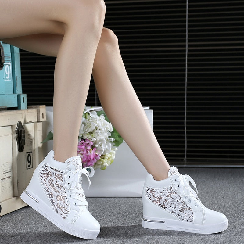 Lace Loafers Casual Comfort