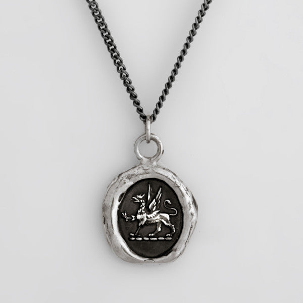 "PYRRHA ""SPIRIT"" talisman necklace"