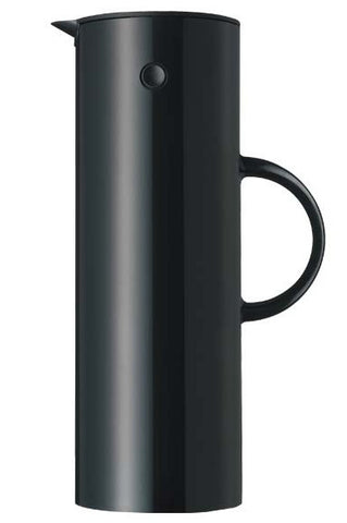 STELTON black vacuum jug for tea or coffee