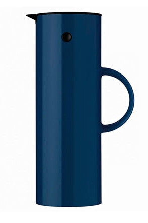 STELTON navy blue vacuum jug for tea or coffee