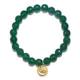 SATYA Green Onyx Protection Bracelet