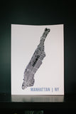 MR. CITY PRINTING Screenprinted City Map